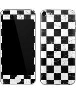 Checkered Marble Apple iPod Skin