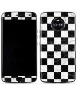 Checkered Marble Moto X4 Skin