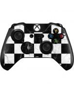 Checkered Marble Xbox One Controller Skin