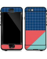 Checkered Split LifeProof Nuud iPhone Skin