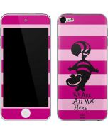 Cheshire Cat We Are All Mad Here Apple iPod Skin