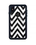Chevron Marble iPhone X Waterproof Case