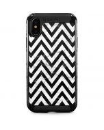 Chevron Marble iPhone XS Max Cargo Case