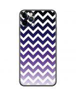 Chevron Purple Ombre iPhone 11 Pro Max Skin