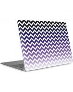 Chevron Purple Ombre Apple MacBook Air Skin
