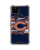 Chicago Bears Blast Google Pixel 5 Clear Case