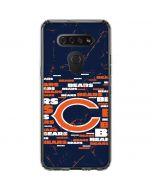 Chicago Bears Blast LG K51/Q51 Clear Case