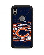 Chicago Bears Blast Otterbox Commuter iPhone Skin