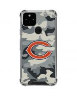 Chicago Bears Camo Google Pixel 5 Clear Case