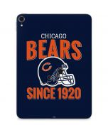 Chicago Bears Helmet Apple iPad Pro Skin