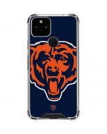 Chicago Bears Large Logo Google Pixel 5 Clear Case