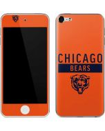 Chicago Bears Orange Performance Series Apple iPod Skin