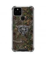 Chicago Bears Realtree Xtra Green Camo Google Pixel 5 Clear Case