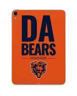 Chicago Bears Team Motto Apple iPad Pro Skin