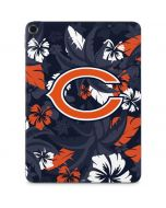 Chicago Bears Tropical Print Apple iPad Pro Skin