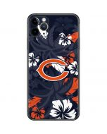 Chicago Bears Tropical Print iPhone 11 Pro Max Skin