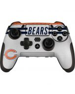 Chicago Bears White Striped PlayStation Scuf Vantage 2 Controller Skin