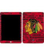 Chicago Blackhawks Blast Apple iPad Skin