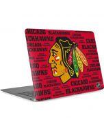 Chicago Blackhawks Blast Apple MacBook Air Skin