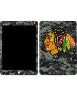 Chicago Blackhawks Camo Apple iPad Skin