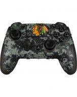 Chicago Blackhawks Camo PlayStation Scuf Vantage 2 Controller Skin