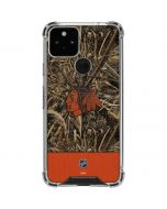 Chicago Blackhawks Realtree Max-5 Camo Google Pixel 5 Clear Case