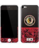 Chicago Blackhawks Retro Tropical Print Apple iPod Skin