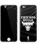 Chicago Bulls Black Animal Print Apple iPod Skin