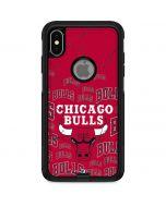 Chicago Bulls Blast Otterbox Commuter iPhone Skin