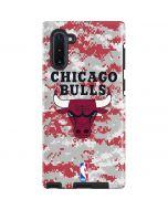 Chicago Bulls Digi Camo Galaxy Note 10 Pro Case