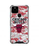Chicago Bulls Digi Camo Google Pixel 5 Clear Case