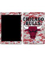 Chicago Bulls Digi Camo Apple iPad Skin