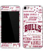 Chicago Bulls Historic Blast Apple iPod Skin