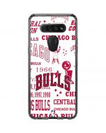 Chicago Bulls Historic Blast LG K51/Q51 Clear Case