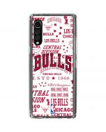 Chicago Bulls Historic Blast LG Velvet Clear Case