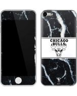 Chicago Bulls Marble Apple iPod Skin