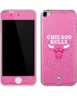 Chicago Bulls Pink Blast Apple iPod Skin