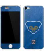Chicago Cubs - Cooperstown Distressed Apple iPod Skin