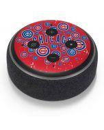 Chicago Cubs - Red Primary Logo Blast Amazon Echo Dot Skin
