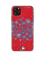 Chicago Cubs - Red Primary Logo Blast iPhone 11 Pro Max Skin