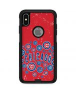 Chicago Cubs - Red Primary Logo Blast Otterbox Commuter iPhone Skin