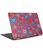 Chicago Cubs - Red Primary Logo Blast Dell XPS Skin