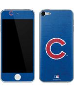 Chicago Cubs - Solid Distressed Apple iPod Skin