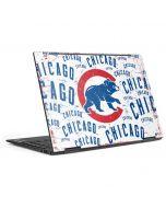 Chicago Cubs - White Cap Logo Blast HP Envy Skin