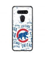 Chicago Cubs - White Cap Logo Blast LG K51/Q51 Clear Case