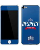 Chicago Cubs 2016 World Series Champions Apple iPod Skin