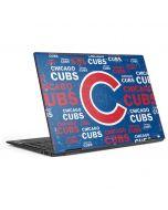 Chicago Cubs -Cap Logo Blast HP Envy Skin