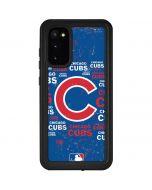 Chicago Cubs -Cap Logo Blast Galaxy S20 Waterproof Case