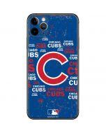 Chicago Cubs -Cap Logo Blast iPhone 11 Pro Max Skin