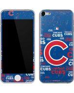 Chicago Cubs -Cap Logo Blast Apple iPod Skin